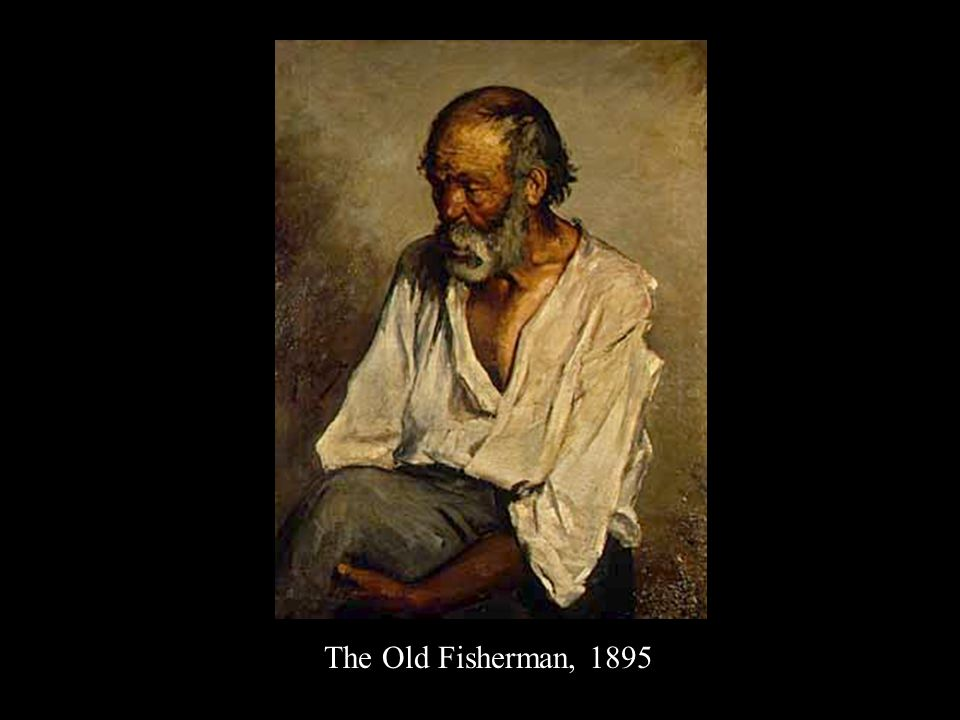 14 years old The Old Fisherman, 1895