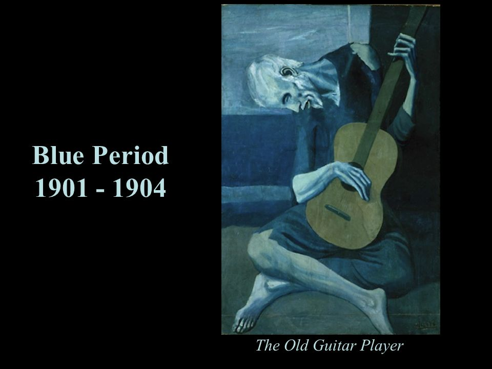 Blue Period 1901 - 1904 The Old Guitar Player