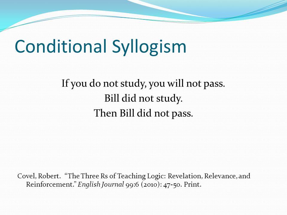 Conditional Syllogism