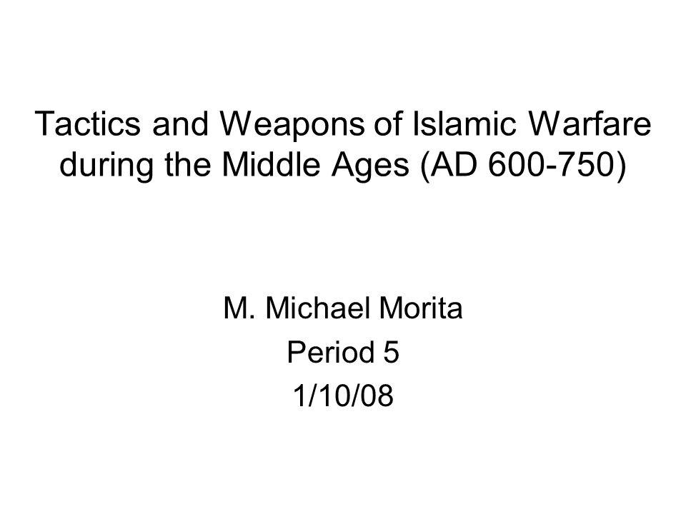M. Michael Morita Period 5 1/10/08