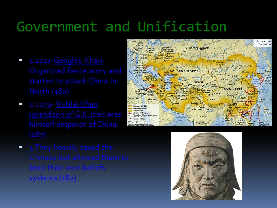 Government and Unification