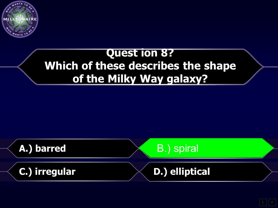 Which of these describes the shape