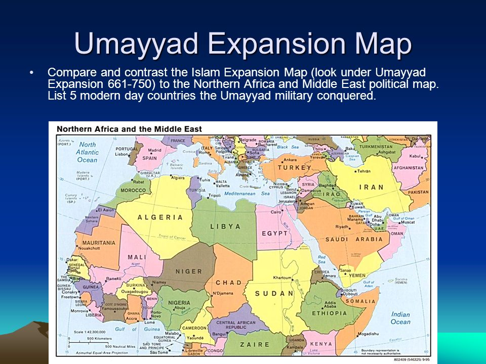 Umayyad Expansion Map