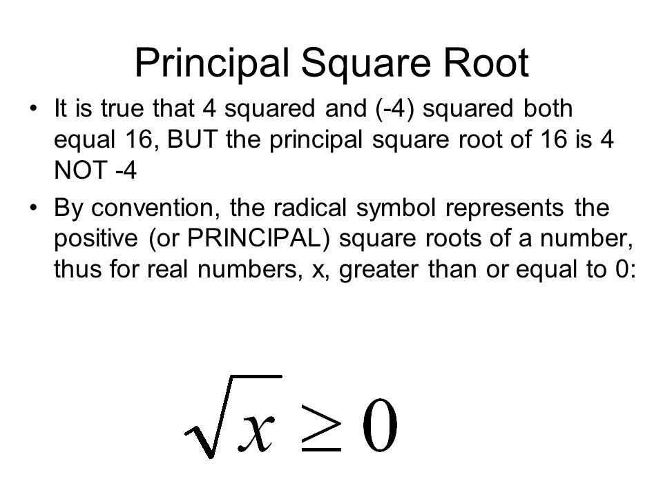 how to write square root as a power