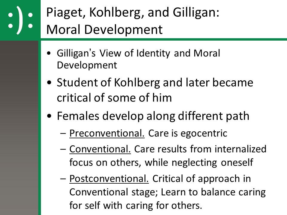 carol gilligan criticism of kohlberg