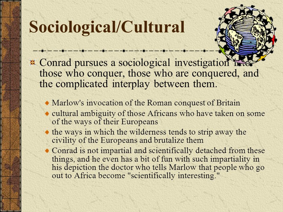 Sociological/Cultural