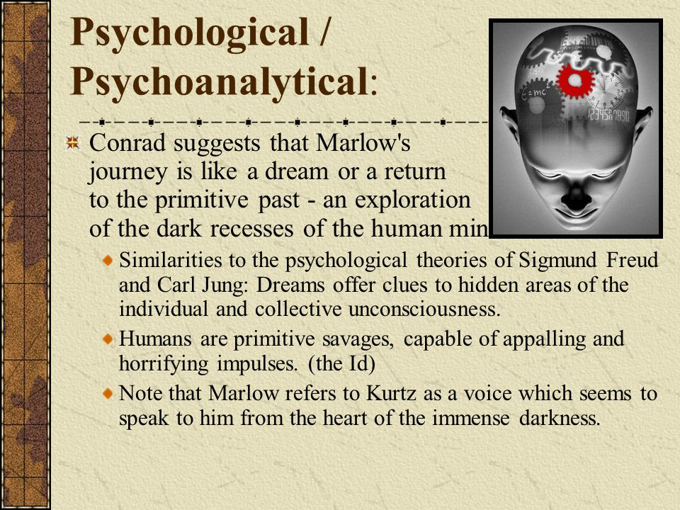 Psychological / Psychoanalytical: