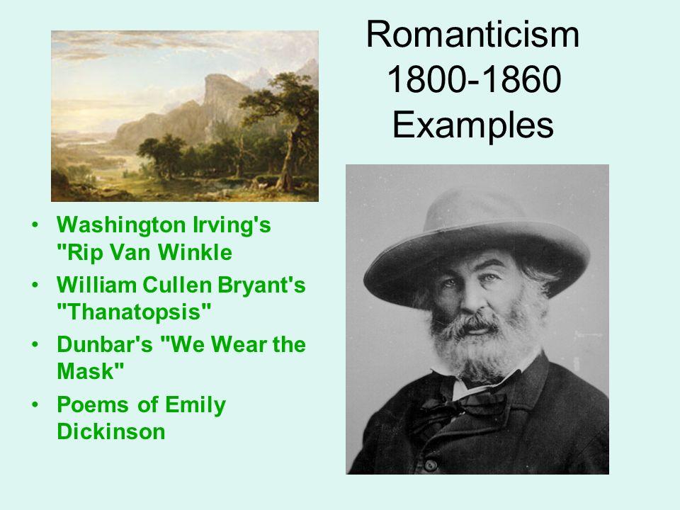 Romanticism 1800-1860 Examples