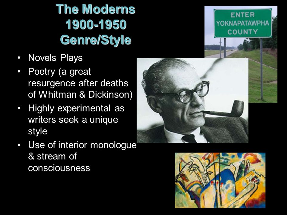 The Moderns 1900-1950 Genre/Style