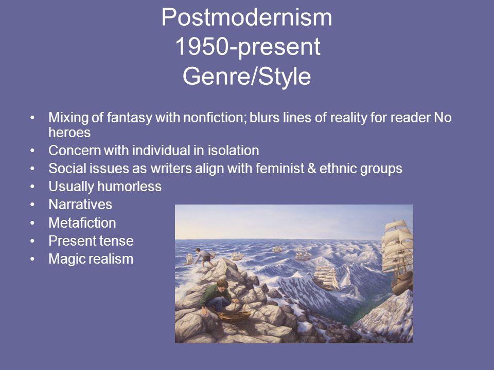 Postmodernism 1950-present Genre/Style