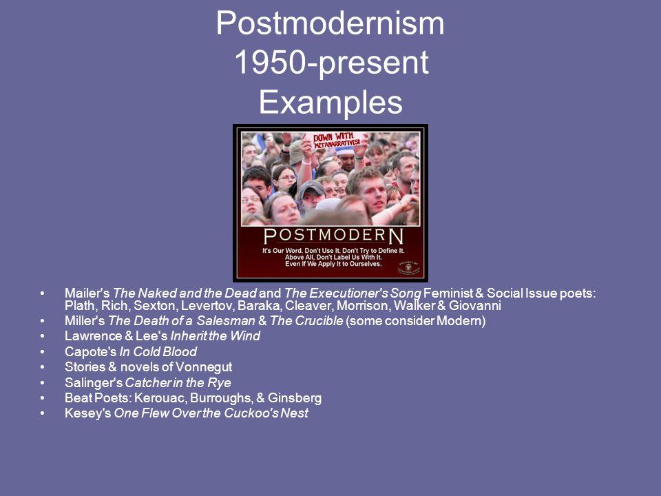 Postmodernism 1950-present Examples