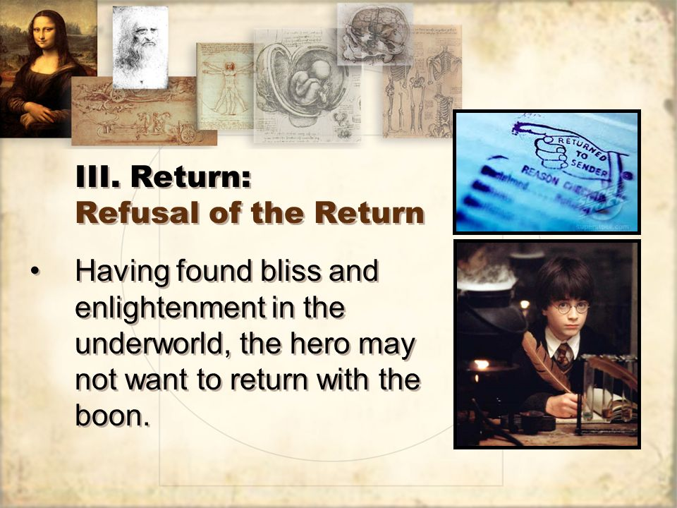 III. Return: Refusal of the Return