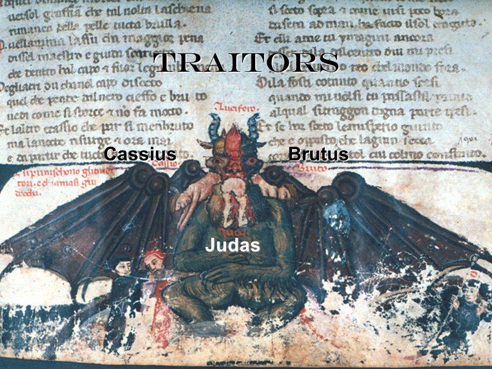 traitors Cassius Brutus Judas