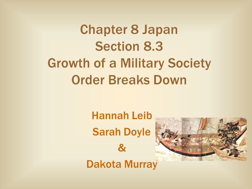 Hannah Leib Sarah Doyle & Dakota Murray