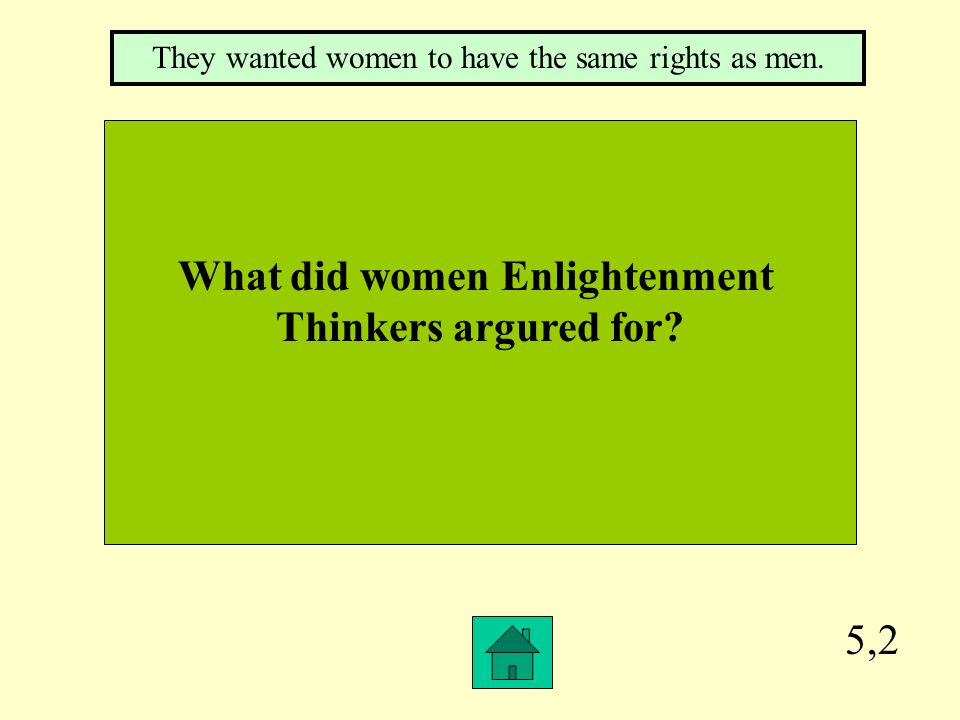 What did women Enlightenment