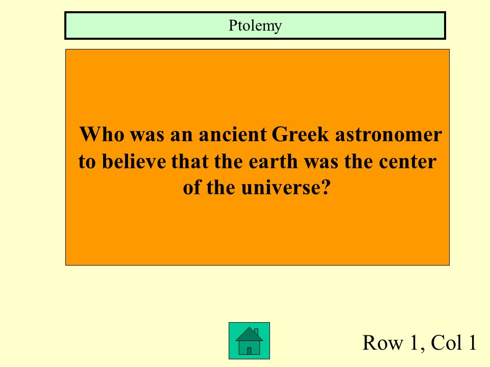 Who was an ancient Greek astronomer