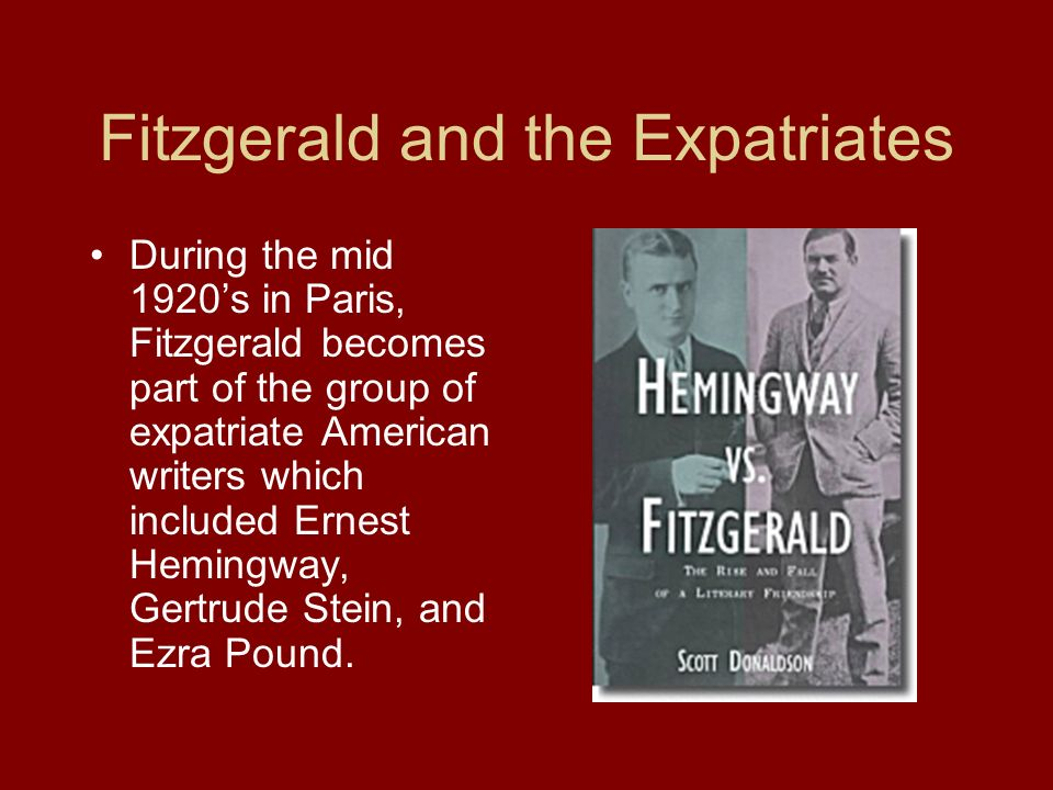 Fitzgerald and the Expatriates