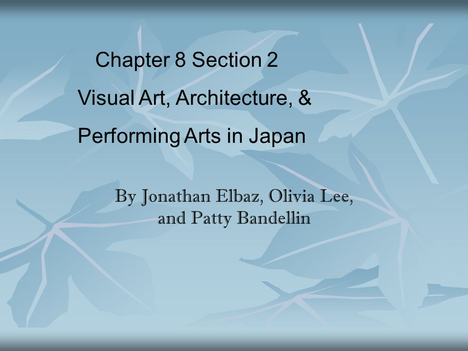By Jonathan Elbaz, Olivia Lee, and Patty Bandellin