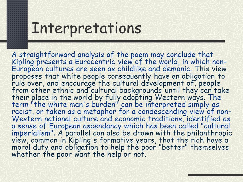 Interpretations