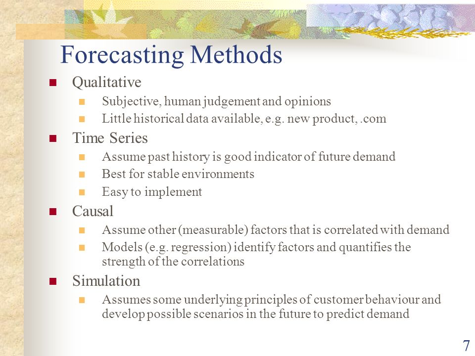 demand forecasting Demand forecasting is used to predict independent demand from sales orders and dependent demand at any decoupling point for customer orders the enhanced demand forecast reduction rules provide an ideal solution for mass customization.