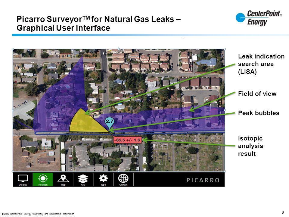 Natural Gas Leak Surveyor