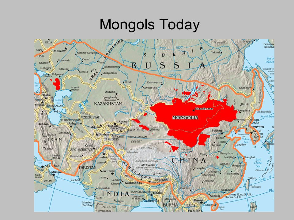 Mongols Today