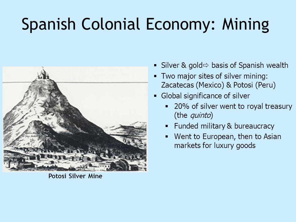 Spanish Colonial Economy: Mining