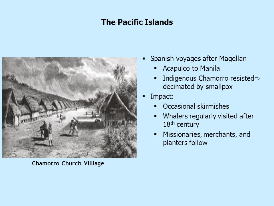 The Pacific Islands Spanish voyages after Magellan Acapulco to Manila