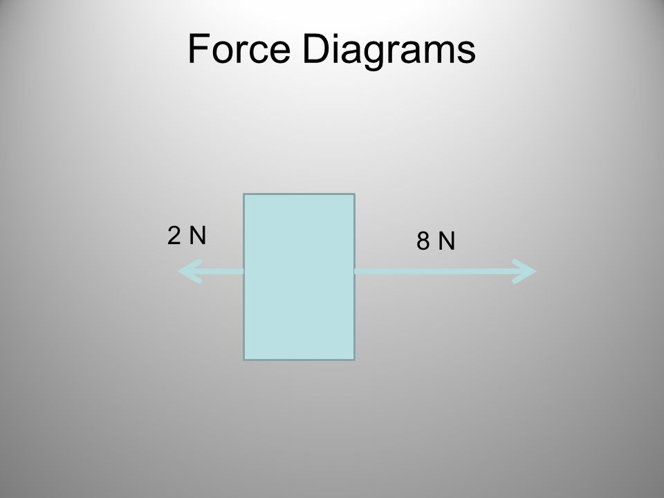 Force Diagrams 2 N 8 N