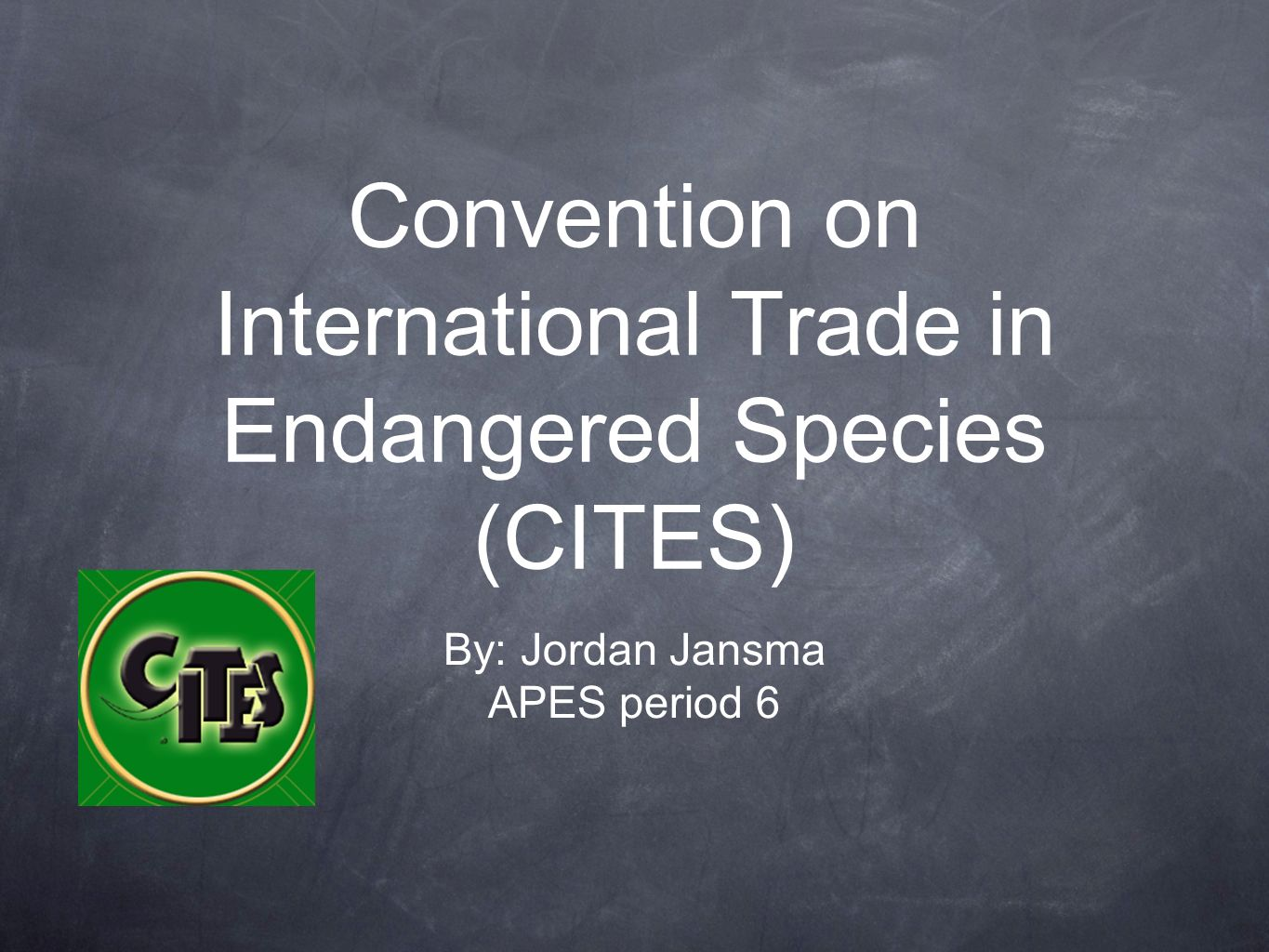 Convention on International Trade in Endangered Species (CITES)