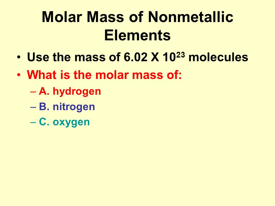 The MOLE CH ppt video online download
