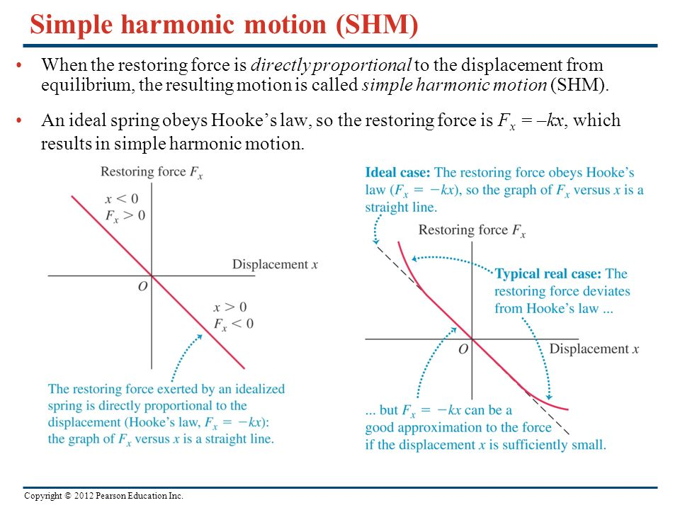 What are some examples of simple harmonic motion?