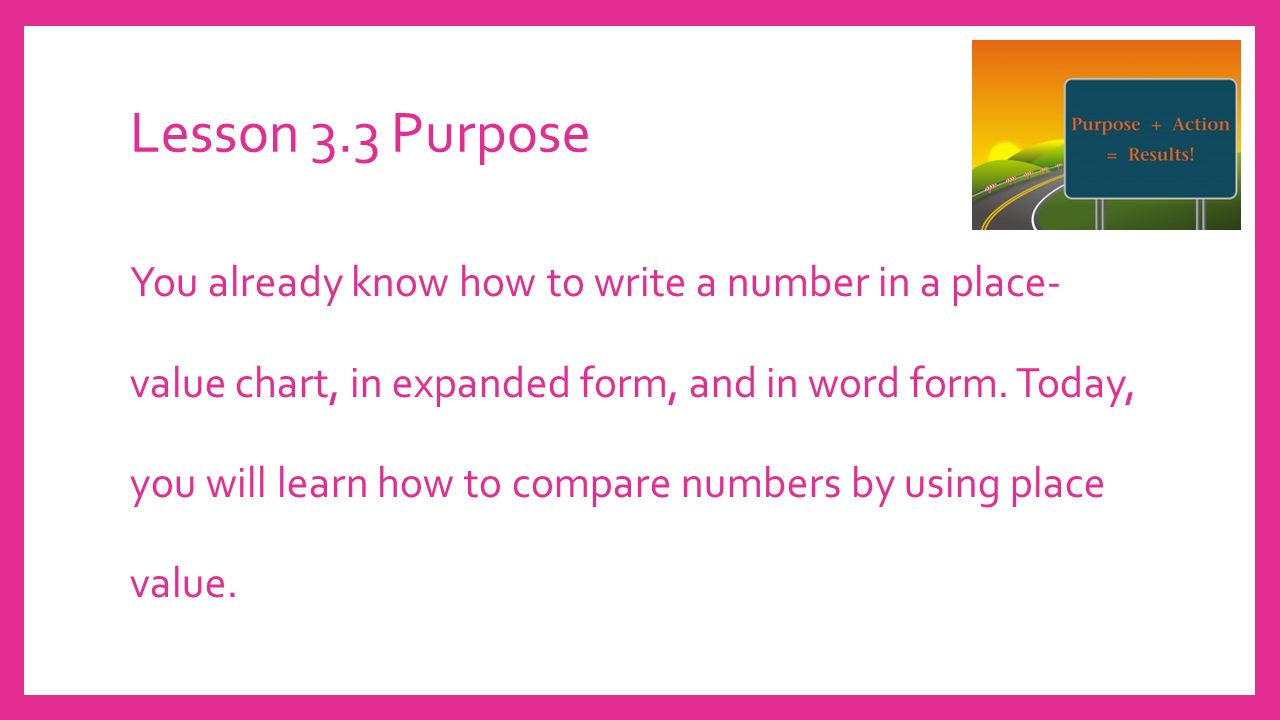 Topic 3 place value ppt video online download how to write a number in a place value chart in expanded form and in word form today you will learn how to compare numbers by using place value falaconquin