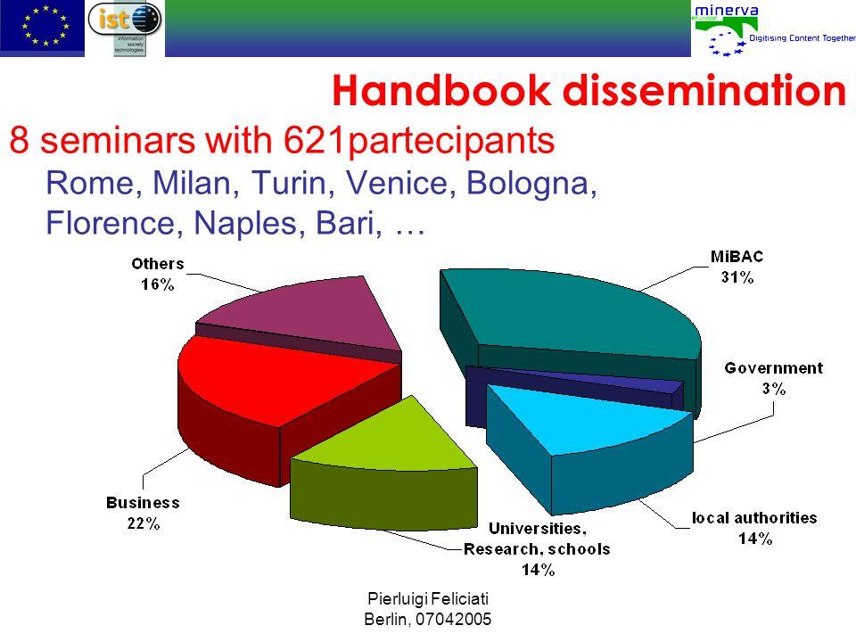 Handbook dissemination