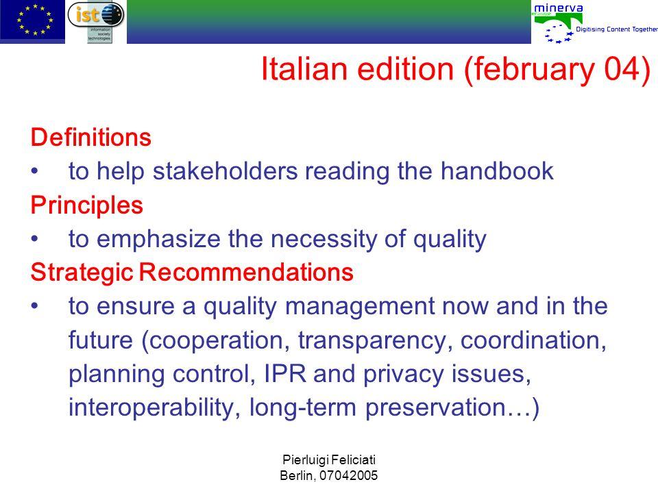 Italian edition (february 04)