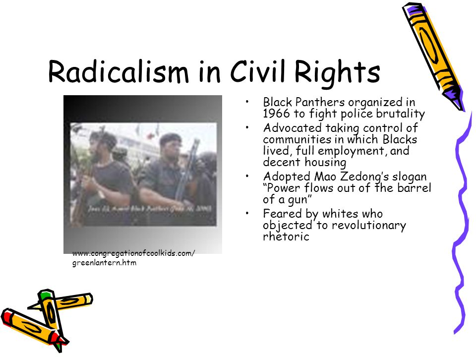 Radicalism in Civil Rights