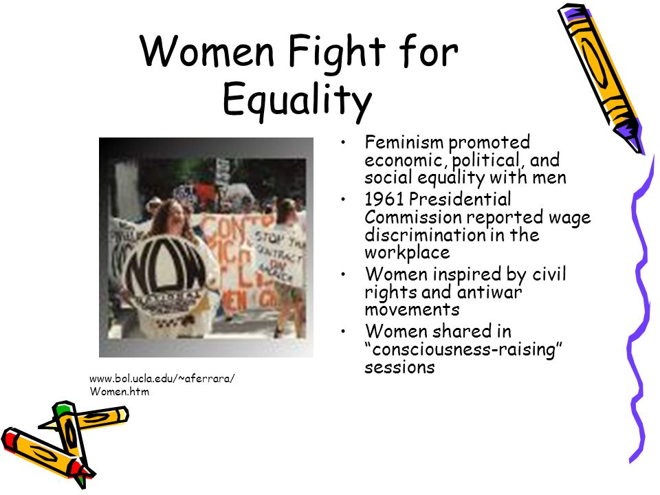 Women Fight for Equality