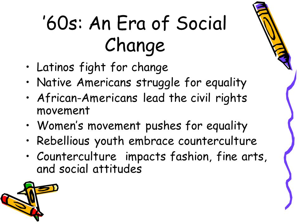 '60s: An Era of Social Change