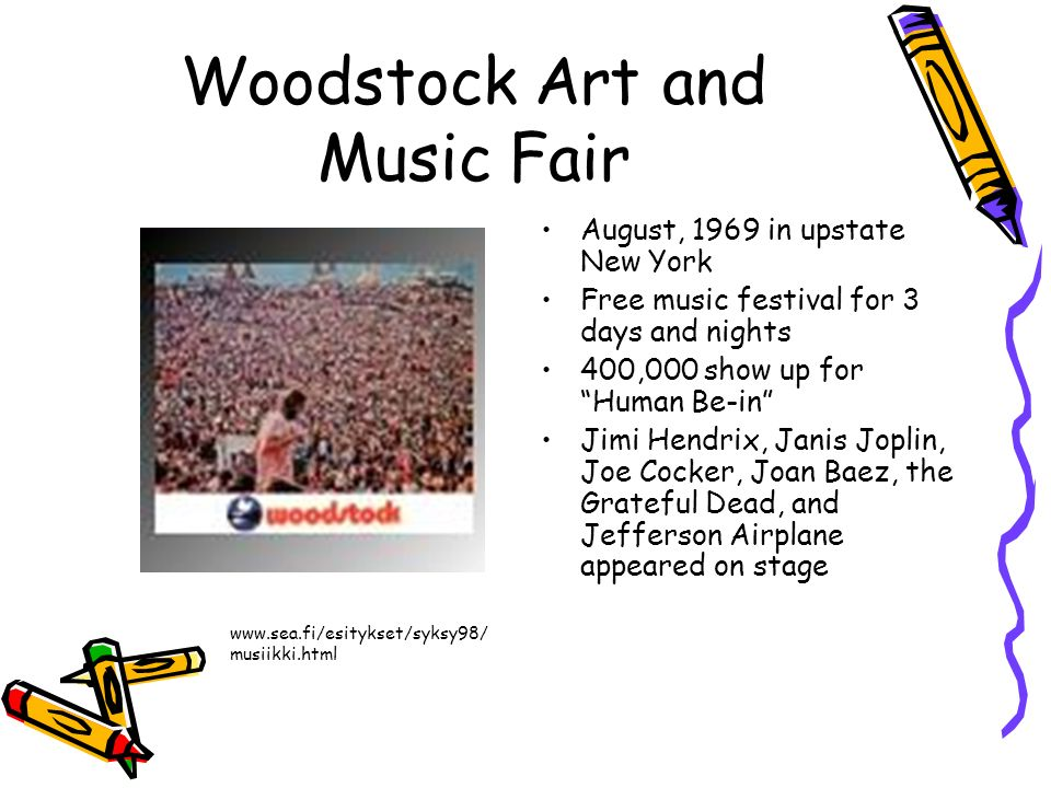 Woodstock Art and Music Fair