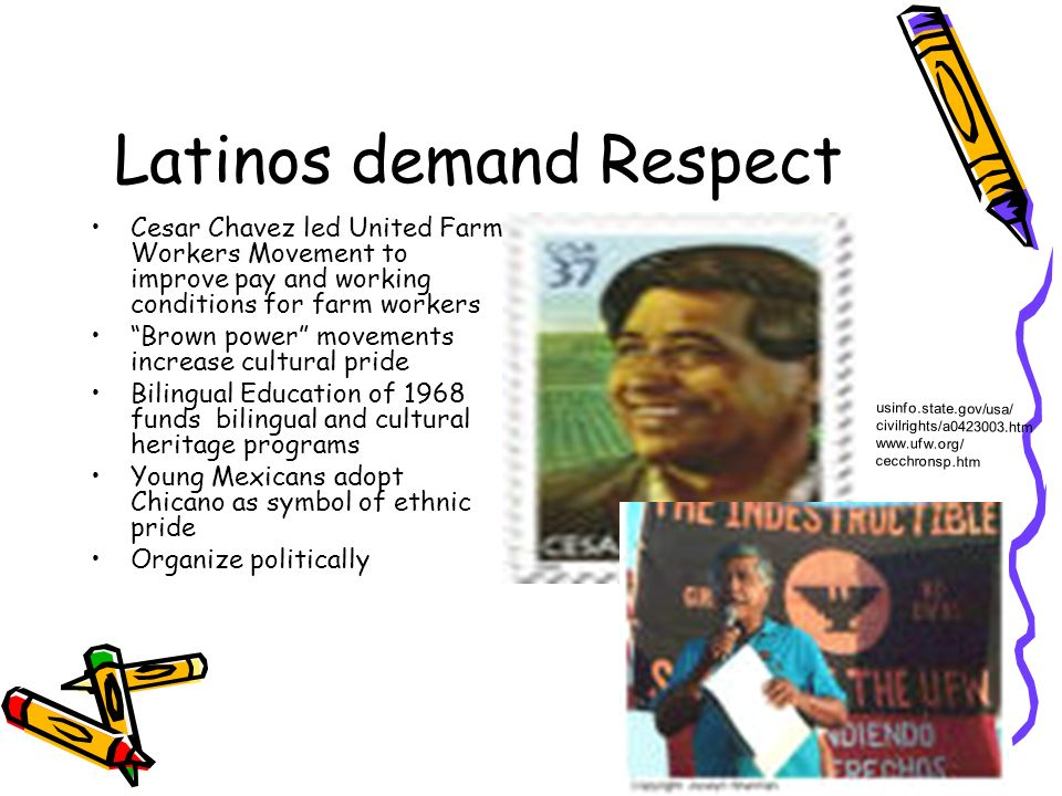 Latinos demand Respect