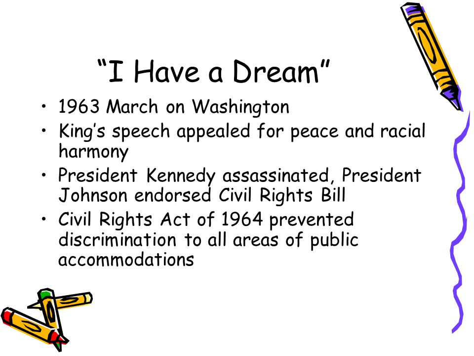 I Have a Dream 1963 March on Washington