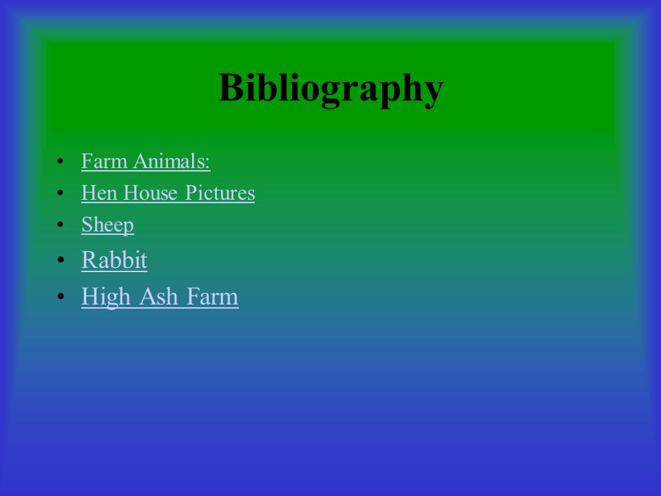 Bibliography Rabbit High Ash Farm Farm Animals: Hen House Pictures