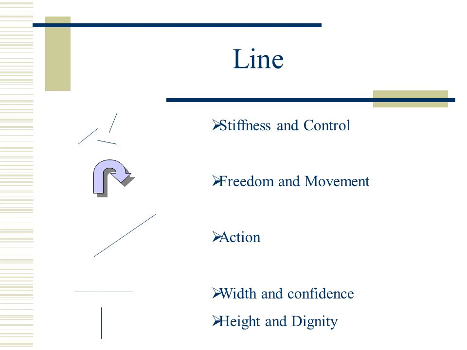 Line Stiffness and Control Freedom and Movement Action