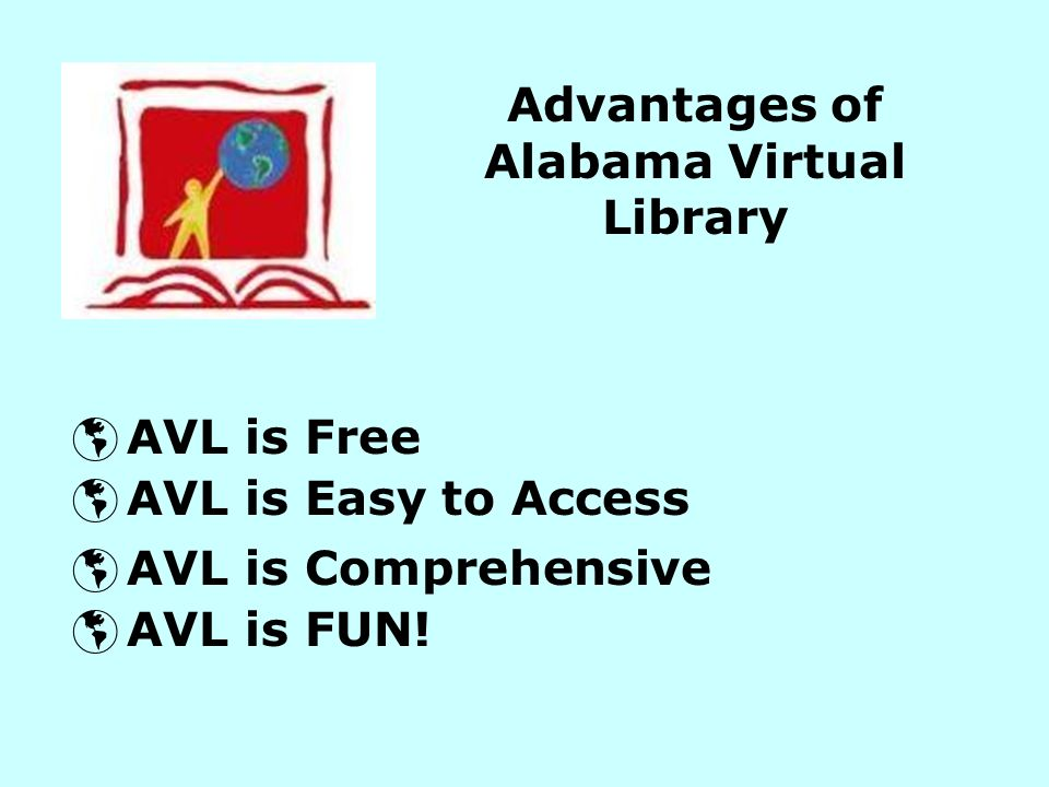 Advantages of Alabama Virtual Library