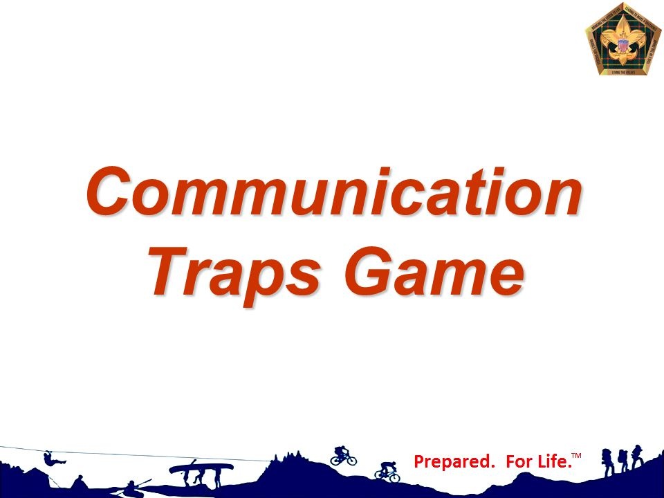Communication Traps Game