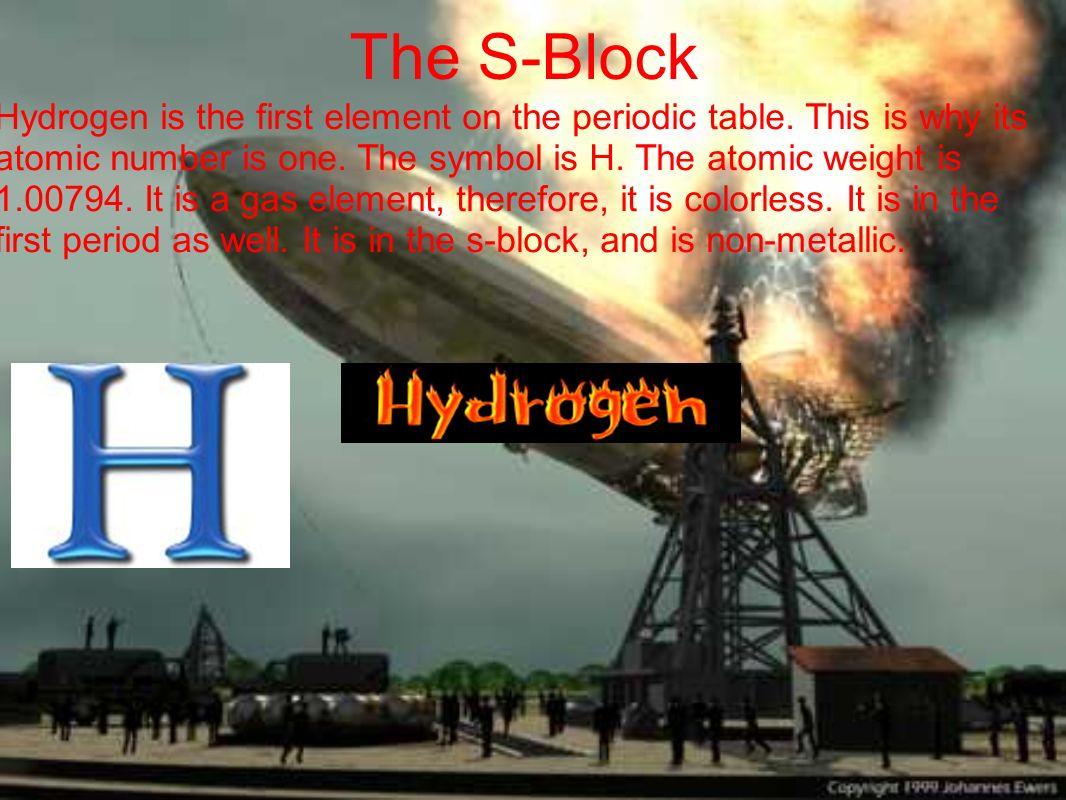 The S-Block