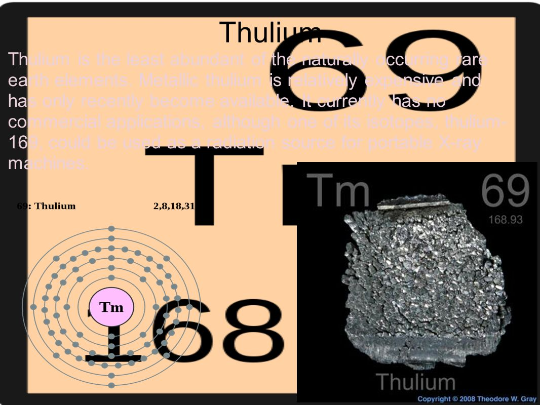 The periodic table of elements becka and jess style ppt thulium gamestrikefo Gallery