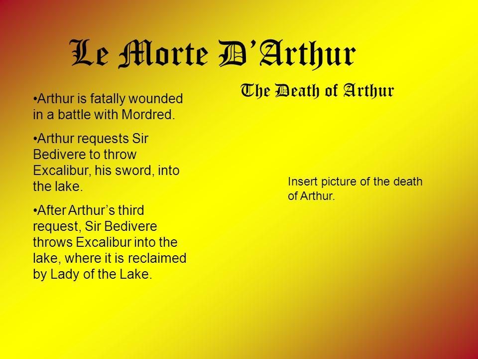 Le Morte D'Arthur The Death of Arthur