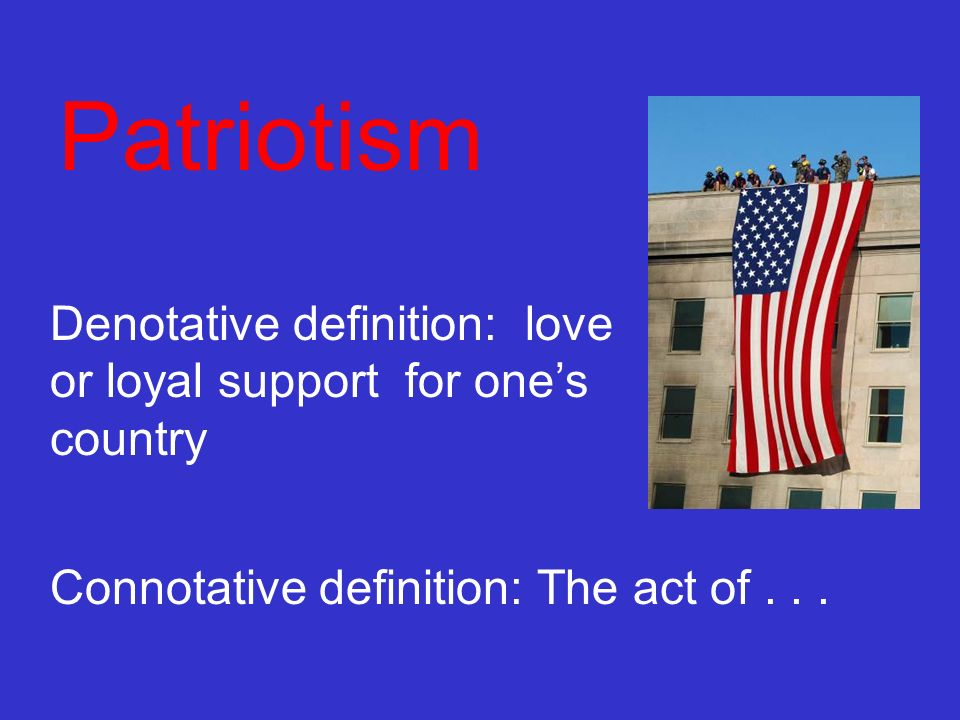 country essay love nationalism patriotism