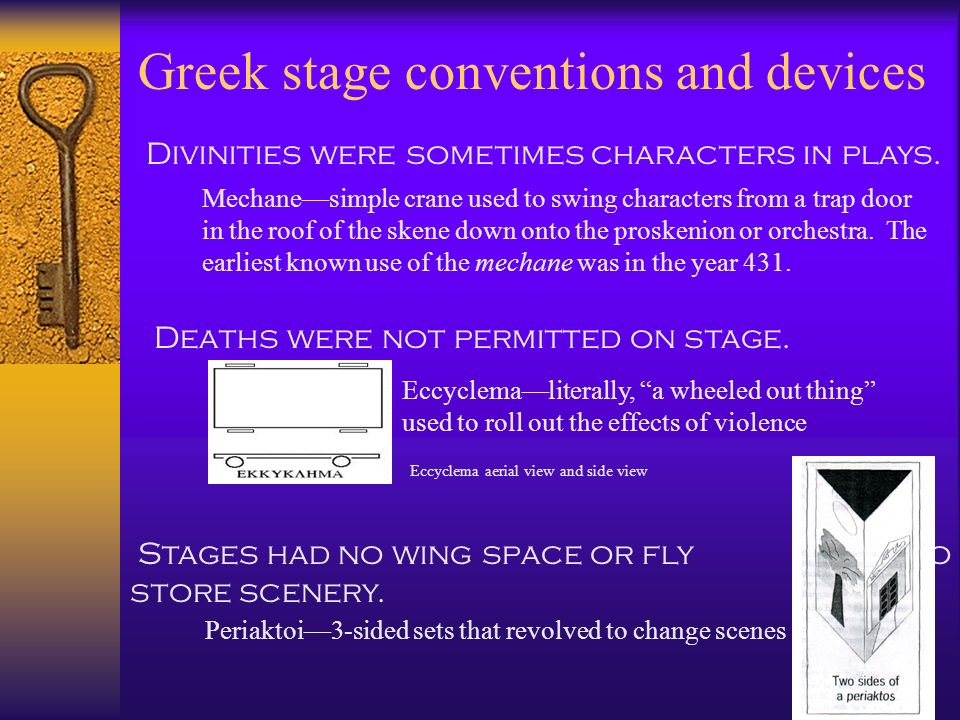 Greek stage conventions and devices